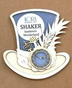 Shaker Cappello (Sombrero Wonderland) - Kora Projects (7 pezzi)
