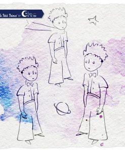 Timbro - Petit Prince Il Piccolo Principe (5 pezzi)