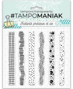 Timbro - #Tampomaniak Masking Tape Déco (6 pezzi)