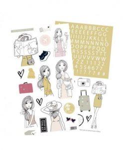 Travel Rita Rita - Pack di adesivi