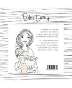 Travel Rita Rita - Set di cards Ilustraciones (48 pezzi)