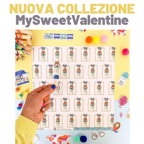 Piccolina Brava My Sweet Valentine scrapbooking Italia