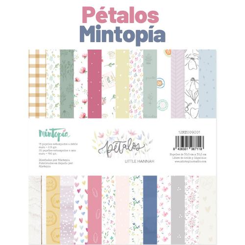 Petalos Mintopia scrapbooking Italia