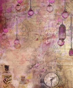 Blooming Grunge 03 Craft & You Design - Carta di riso A4