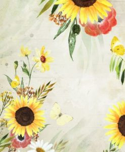 Blossom Meadow 02 Craft & You Design - Carta di riso A4