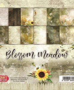 Blossom Meadow Craft & You Design - Blocchetto Cartoncino 6x6 (24 fogli)