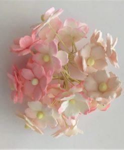 Fiori di Carta - Fiori dell'Innamorato Misto Rosa (25 pezzi)