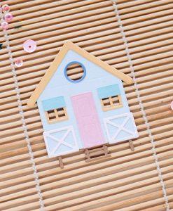 Fustella Casa sulla spiaggia Aloha Mintopía (8 pezzi)