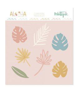 Fustella Fiori tropicali Aloha Mintopía (7 pezzi)