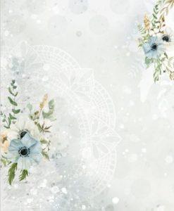 Morning Mist 02 Craft & You Design - Carta di riso A4