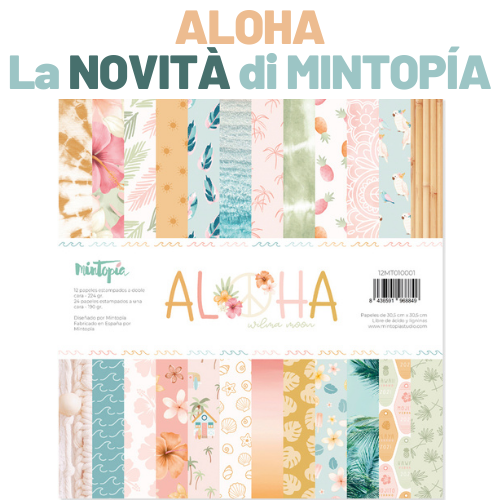 Mintopia Aloha Scrapbooking Italia