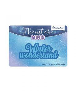 Winter Wonderland Scritta Hunkydory - Mini Fustella (2 pezzi)