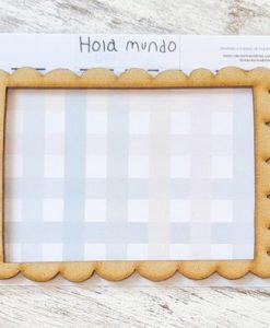 Cornice in legno Mandarina & Lima - Abbellimento (1 pezzo)