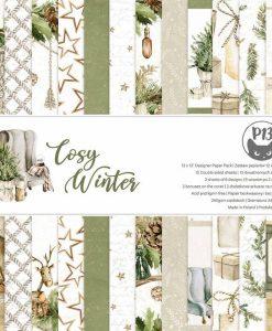Cosy Winter P13 - Blocchetto Cartoncino 12x12 (12 fogli)