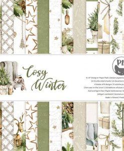 Cosy Winter P13- Blocchetto Cartoncino 6x6 (24 fogli)