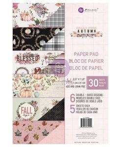 Hello Pink Autumn (A4) Prima Marketing - Blocchetto Cartoncino A4 (30 fogli)