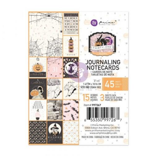 Pad di cards - Thirty-One Prima Marketing (45 schede)