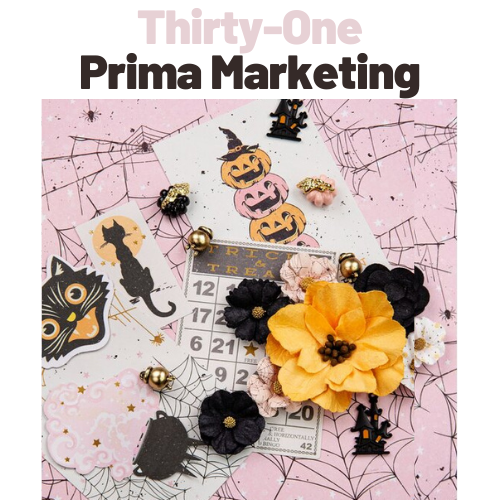 Halloween Prima Marketing Italia Scrapbooking